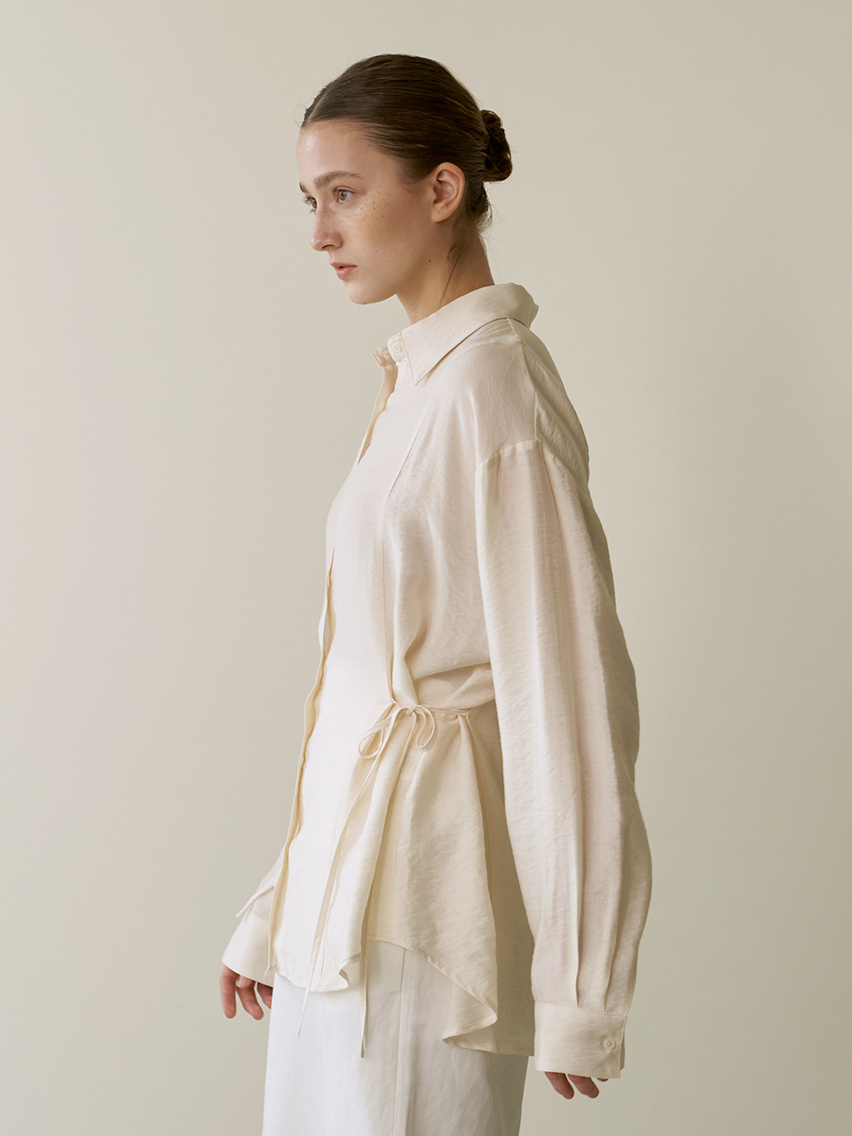 Resort string shirts - Cream