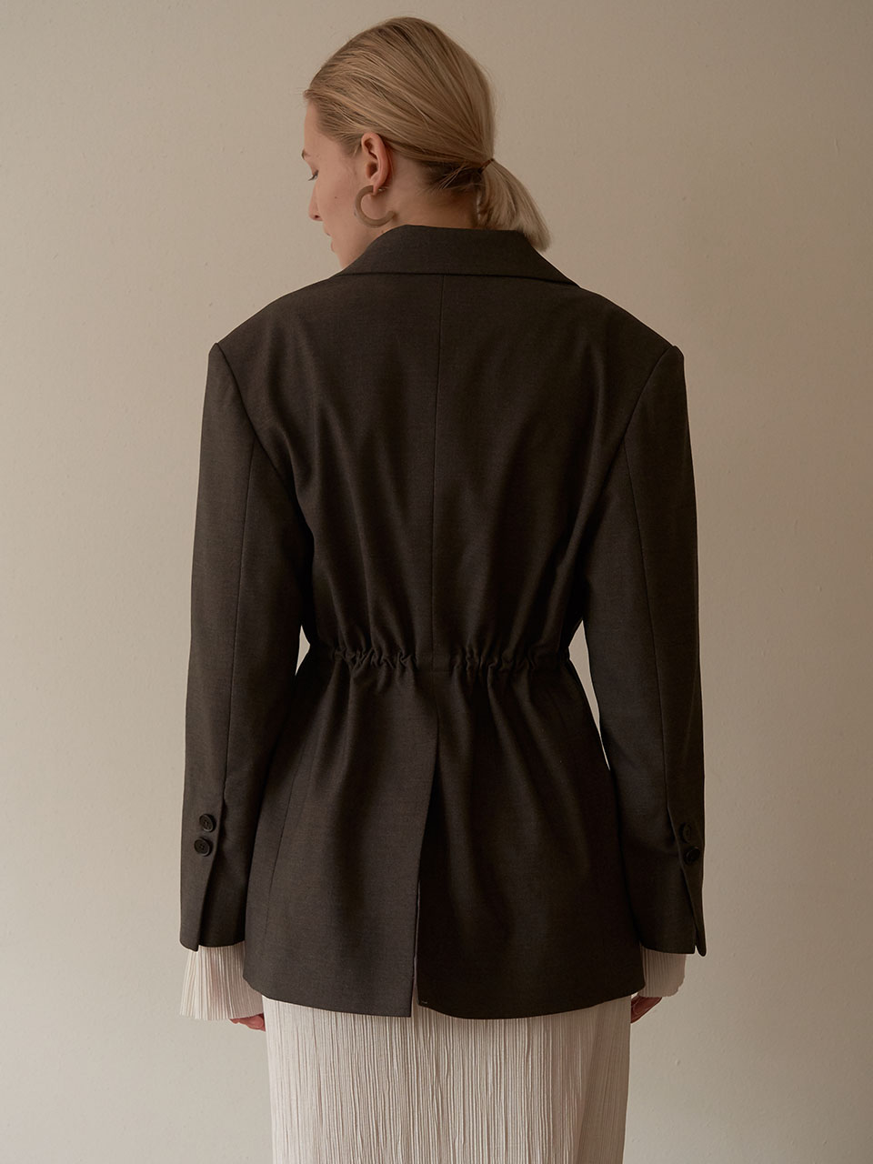 Glass jacket - Kaki Brown