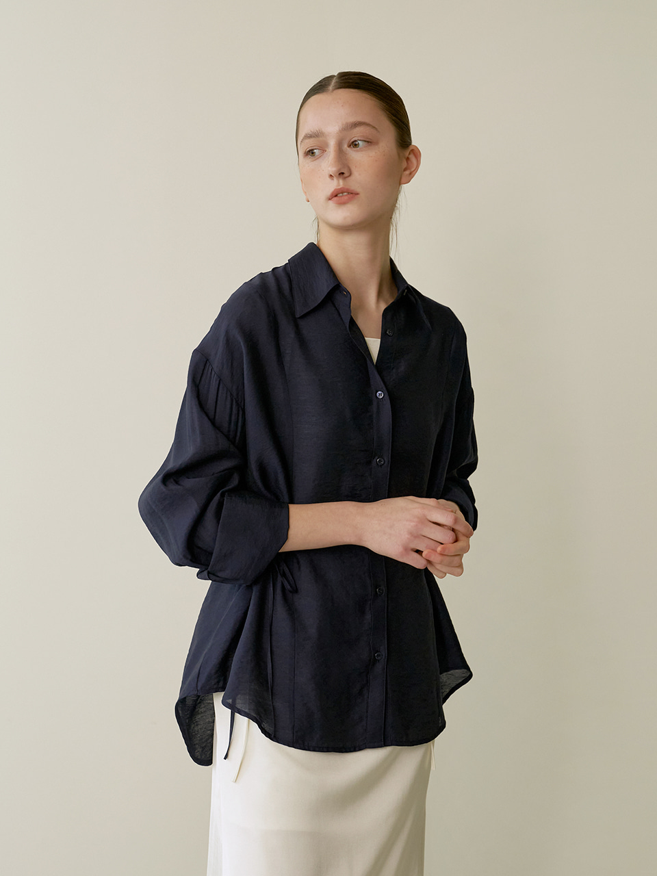 Resort string shirts - Navy